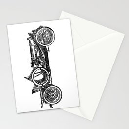Old car 3 Stationery Cards