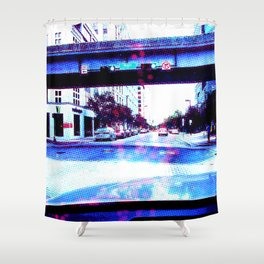 Approaching Hogan St. Shower Curtain