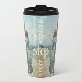 NEVER STOP EXPLORING II SUMMER EDITION Travel Mug