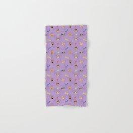 Dog Toy Pattern Hand & Bath Towel