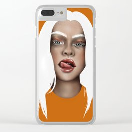 Bad Guy Clear iPhone Case