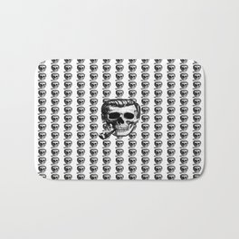 Bob Dobbs Skull Blotter Bath Mat