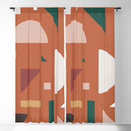 Abstract Geometric 32 Blackout Curtain