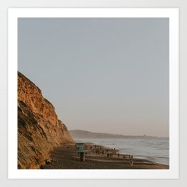 Torrey Pines Coastline Art Print