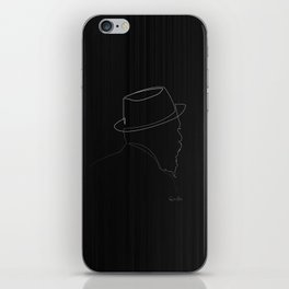 One line Thelonious Monk iPhone Skin