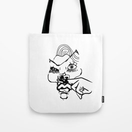 This woman is a joke Tote Bag