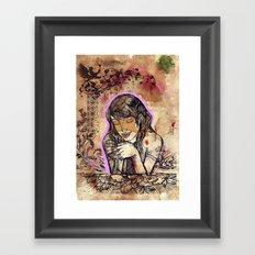 Ciana Framed Art Print