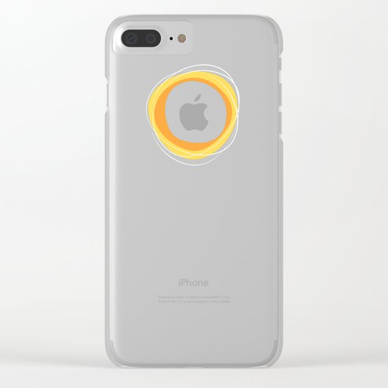 Solar Eclipse MCModern Clear iPhone Case