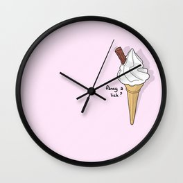 What a Lick? Wall Clock