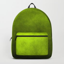 Slime Green Vaporized Neon Ectoplasm Fog Backpack
