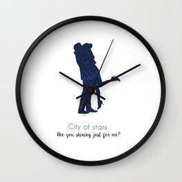 La La land (City of Stars) Wall Clock