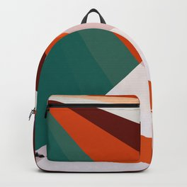 Seizing The Trends Abstract Low Poly Geometric Art  Backpack