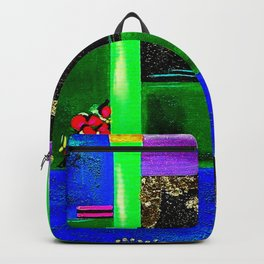 Sunrise in Ponce - Abstract Creative Fusion of Colors and Emotions Backpack