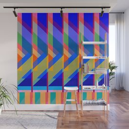 Action Square Wall Mural