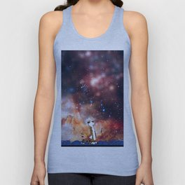 Calvin And Hobbes Nebula Unisex Tank Top