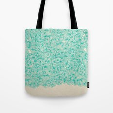 Abstract Pattern – Turquoise Tote Bag