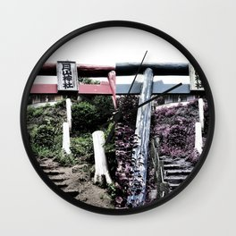Ascend -into the warp- (Japan) Wall Clock