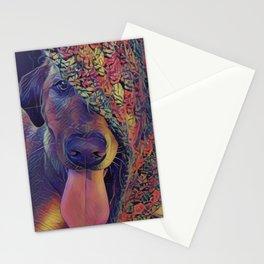 Labrador Crazy I Stationery Cards