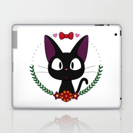 Little Black Cat Laptop & iPad Skin