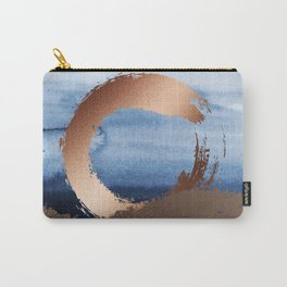 Inspiration: Gold, Copper And Blue Carry-All Pouch