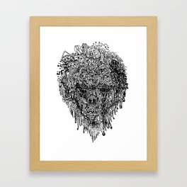 Parsec Mingle Framed Art Print