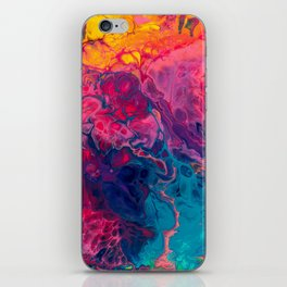 rainbow heavens iPhone Skin