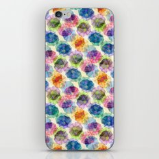 Funnel Flower Pattern iPhone Skin