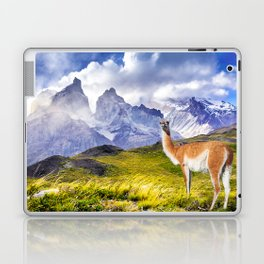 Patagonia landscape in Torres del Paine, Chile Laptop & iPad Skin