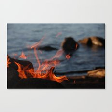 Blow Canvas Print