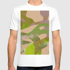 Camouflage White Mens Fitted Tee MEDIUM