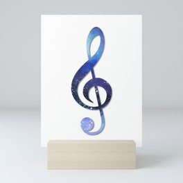 Treble clef Mini Art Print