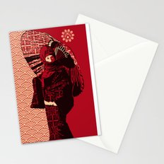 ASIAN WOMAN Stationery Cards