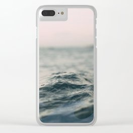 wavey Clear iPhone Case