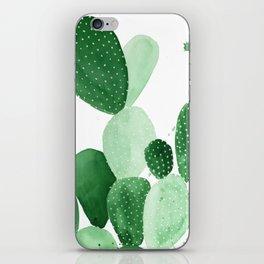 Green Paddle Cactus II iPhone Skin