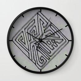 Diamond Design 2 Wall Clock