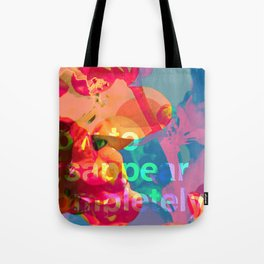 How to Disappear Completely Tote Bag