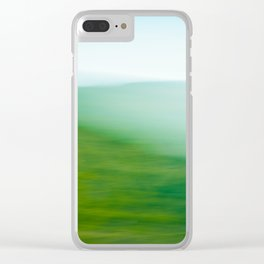 Mountains and Sea Clear iPhone Case