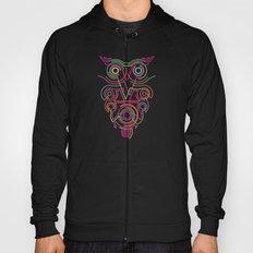 owl pink Hoody