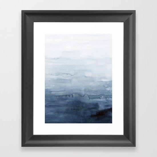Indigo Abstract Painting   No. 4 by ccartstudio