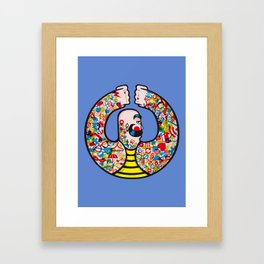 Icon Man Framed Art Print