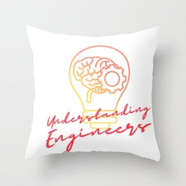 Understanding Engineers Funny And Unique Design_32 Throw Pillow