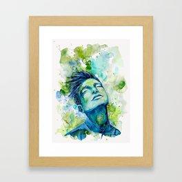 Dash by carographic, Carolyn Mielke Framed Art Print