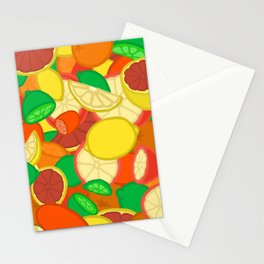 Cute Fruits! Stationery Cards