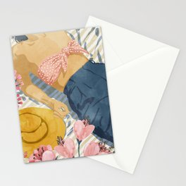 Beach Vacay #society6 #travel #illustration Stationery Cards