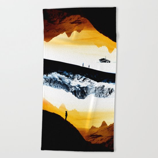 Hiking for Blue Isolation Beach Towel