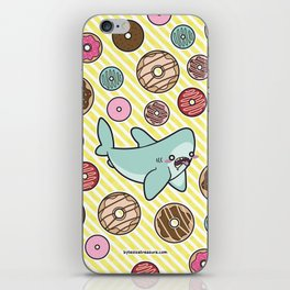 Drooling over Donuts iPhone Skin