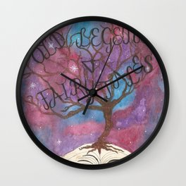 Old Legends & Fairy Tales Wall Clock