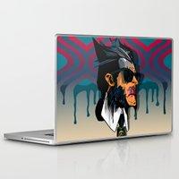 karl Laptop & iPad Skins featuring wolvereen  vs Karl Lagerfeld  by el brujo