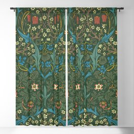 "William Morris ""Blackthorn"" 1. Blackout Curtain"
