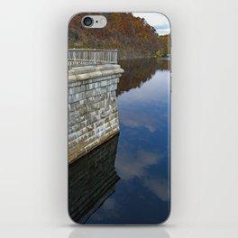 Croton Dam Portrait iPhone Skin